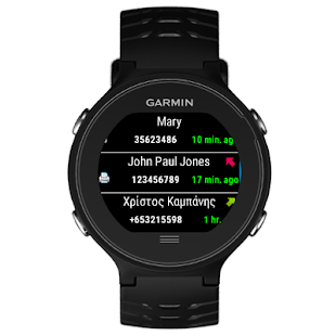 Log for Garmin Connect IQ- screenshot thumbnail