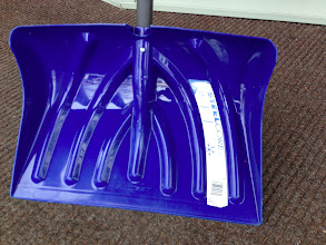 Photo: $10, Sturdy Snow shovel, like-new condition with stickers still on