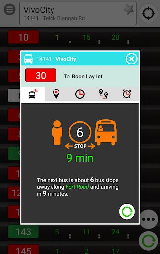 SingBUS: Next Bus Arrival Info screenshots 2