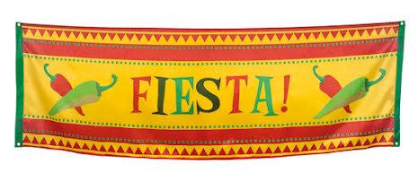 Banner, Mexico fiesta 74x220cm