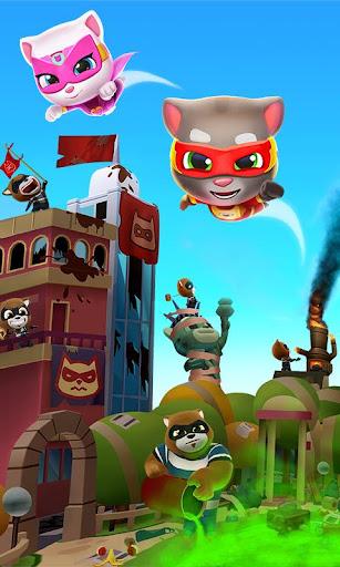 Talking Tom Hero Dash - Run Game screenshot 6