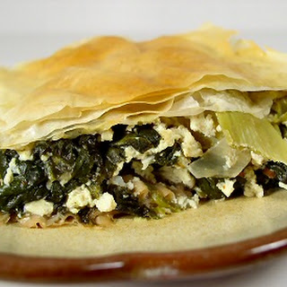 Spinach and Artichoke Pie.