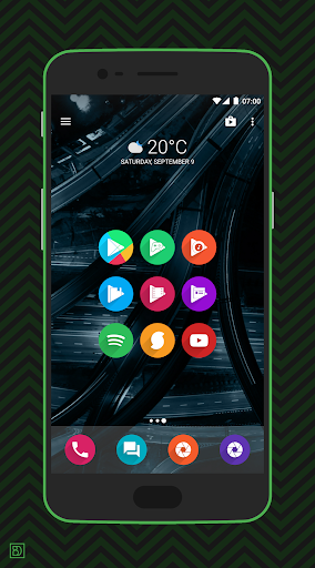 rondo - flat style icon pack screenshot 3