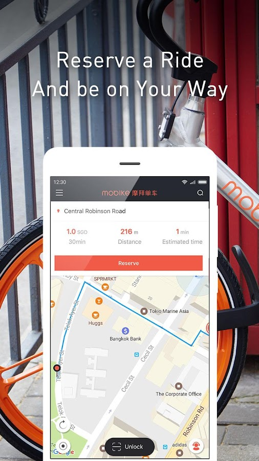 Mobike- screenshot