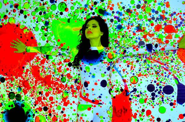 i colori a spruzzi..... di V:V