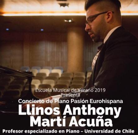 Pianista Llinos Martí Acuña