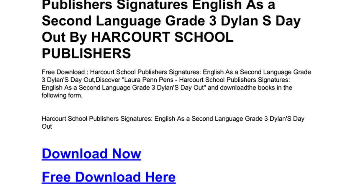 harcourt-school-publishers-signatures-english-as-a-second