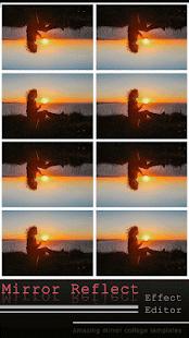 Zrcadlo Odrážet Účinek Editor - náhled