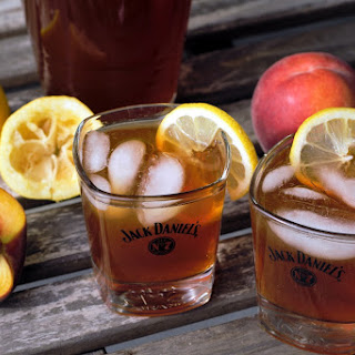 Bourbon Peach Iced Tea.