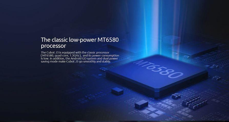 Cubot J3 - 16GB - 1GB RAM - 8MP Camera - Dual Sim - 3G - Black