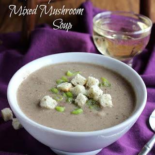 Creamy Mixed Mushroom Soup