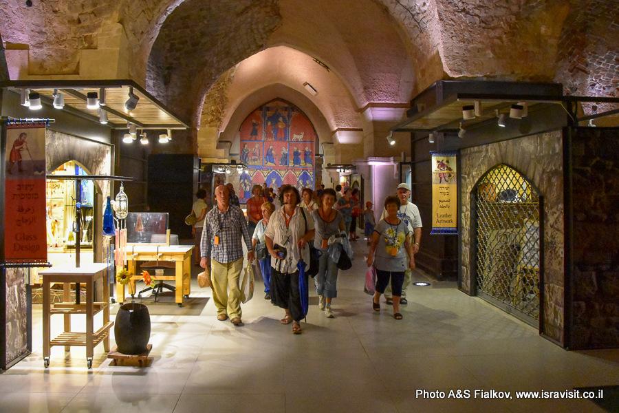 Экскурсия в Акко. Крепость крестоносцев. Рыцарские залы. Гид Светлана Фиалкова.