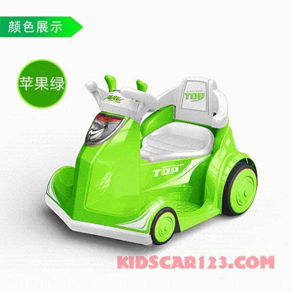 xe đụng điện 4 bánh B088A xanh lá