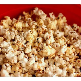 Autumn-Spiced Buttered Popcorn