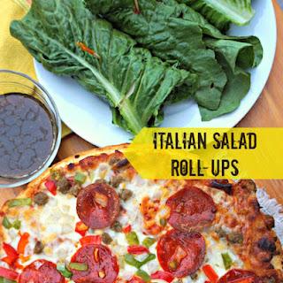 Italian Salad Roll-Ups