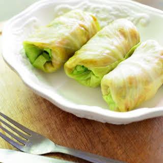 Gołąbki (polish Cabbage Rolls).