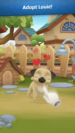 My Virtual Pet Dog 🐾 Louie the Pug 1.8.9 screenshots 1