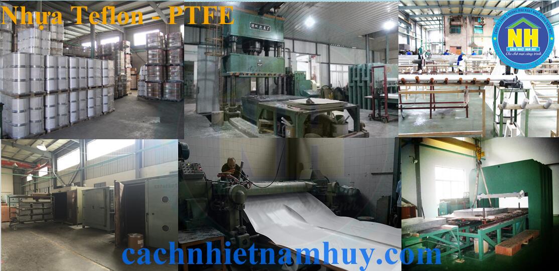 sản xuất nhựa teflon