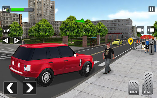 City Taxi Driving: Fun 3D Car Driver Simulator screenshots 2