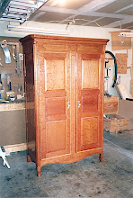 Photo: Armoire Almost Finished