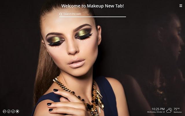 Makeup HD Wallpaper New Tab Theme