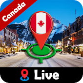 Canada GPS Street View & Live Map Navigation