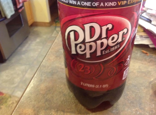 Dr  Pepper makes sauerkraut taste amazing, who would have ever thought it could taste so good.