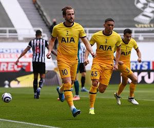Malgré un doublé de Kane, Tottenham loupe le coche