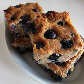 Coconut-Blueberry Cookie Bars