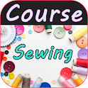 Sewing course. DIY Easy sewing icon