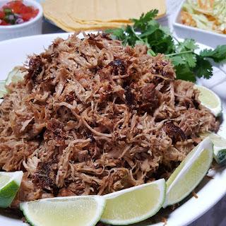 Pressure Cooker Pork Carnitas {Mexican Pulled Pork}.