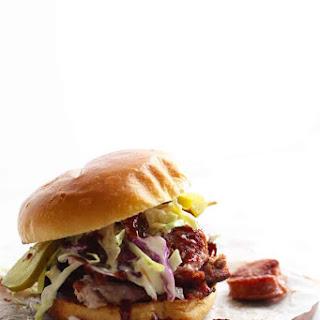 Tipsy Texan BBQ Sandwich.