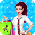 Shopping Mall Fashion Store High School Girl Game icon