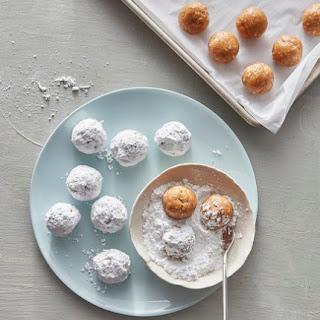 No-Bake Coconut Lime Drops