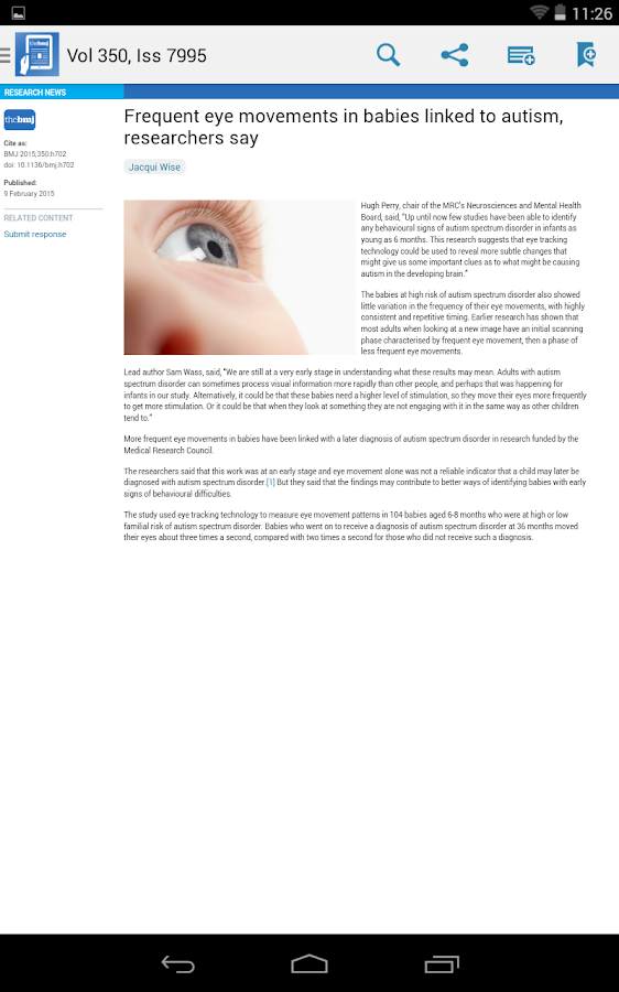 The BMJ- screenshot