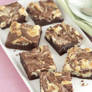 Marbled Cheesecake Brownies.