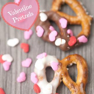 Valentine Pretzels.