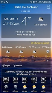 Wetter Screenshot