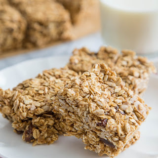 No-Bake Sunflower-Oat Bars