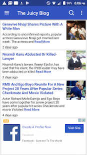The Juicy Blog Nigerian News- screenshot thumbnail