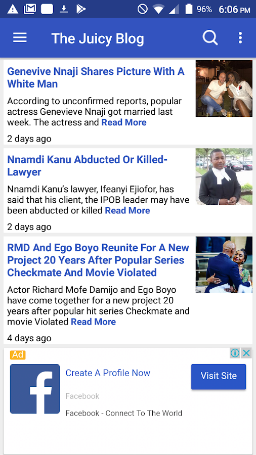 The Juicy Blog Nigerian News- screenshot