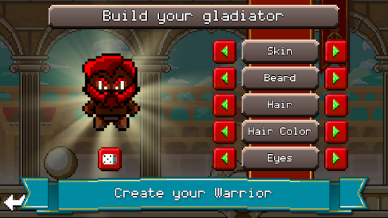 Gladiator Rising: Roguelike RPG - náhled
