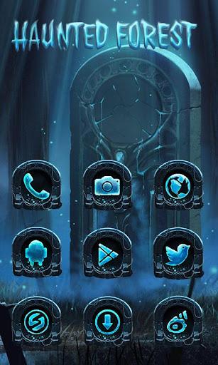 Haunted Forest GO Launcher Screenshot