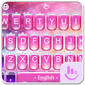 Pink Princess Diamond Galaxy Keyboard Theme icon