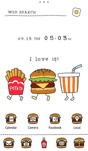 Silly Burgers  Funny Theme 1.0.0 Windows u7528 1