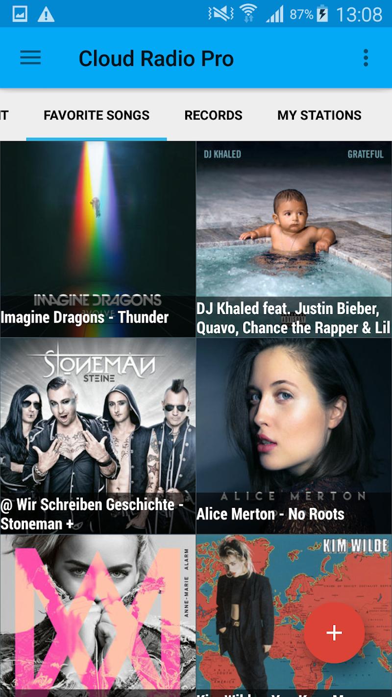 Cloud Radio Pro ( Record & Lyrics ) Screenshot 3