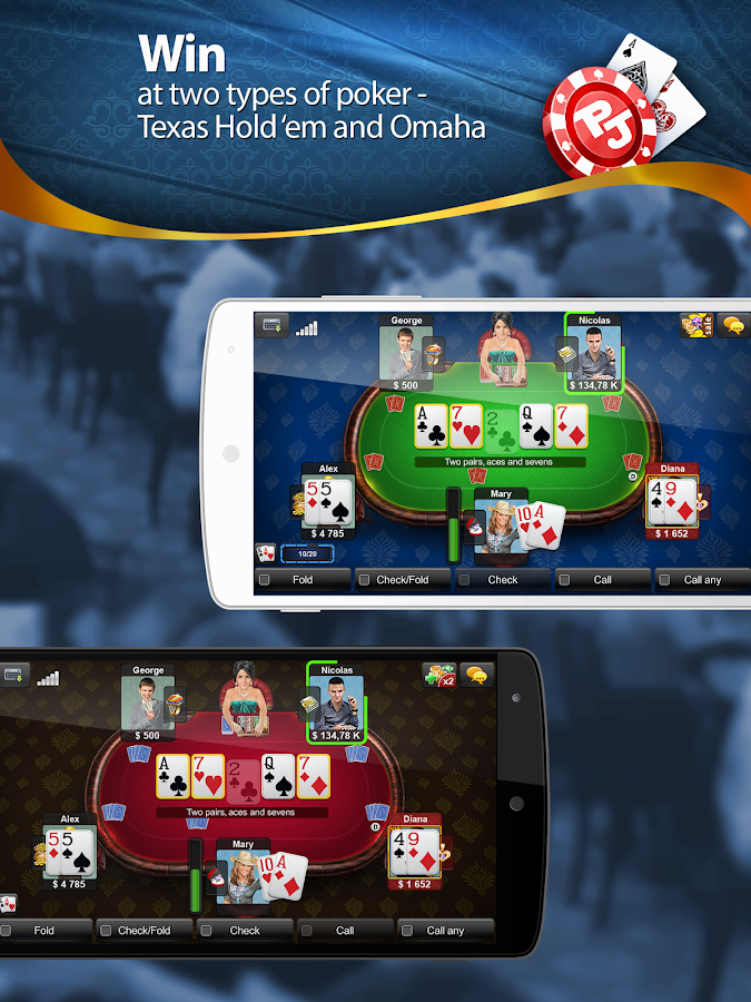 Poker Jet: Texas Holdem- screenshot