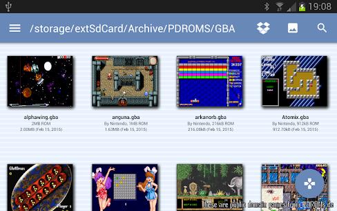 VGBAnext – GBA / GBC / NES Emulator 6.1 PAID 5