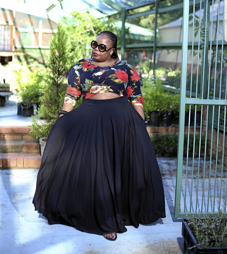 Most women crave the crop-top Ouma Tema dress.