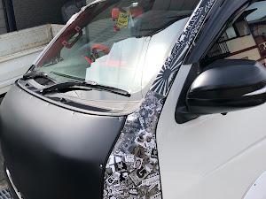 ハイエースバン TRH200V S-GL H20のカスタム事例画像 たぐやん@黒バンパー愛好会さんの2019年02月24日13:01の投稿